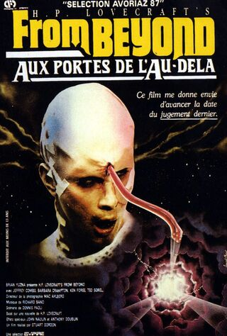 From Beyond (1986) Main Poster