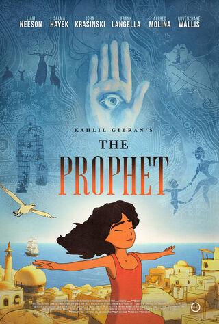 Kahlil Gibran's The Prophet (2015) Main Poster