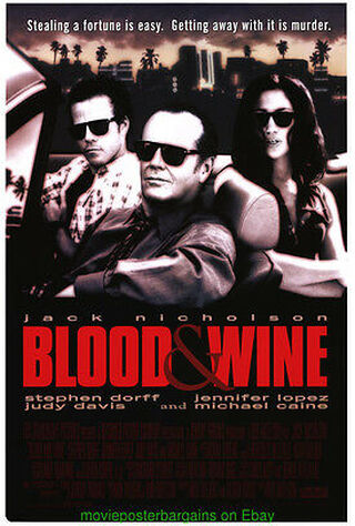 Blood And Wine (1997) Main Poster