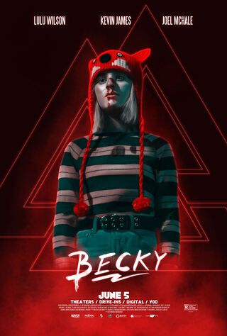 Becky (2020) Main Poster