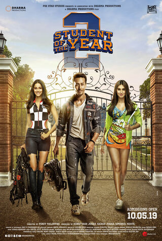 Student Of The Year 2 (2019) Main Poster