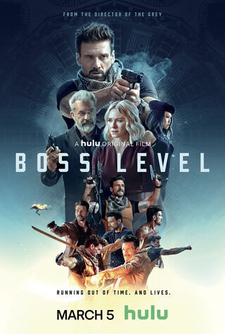 Boss Level (2021) Main Poster