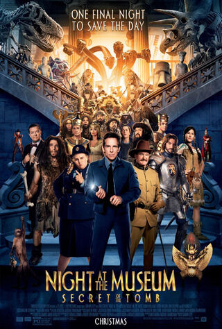 Night at the Museum: Secret of the Tomb (2014) Main Poster