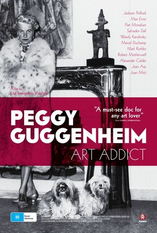 Peggy Guggenheim: Art Addict (2015) Main Poster