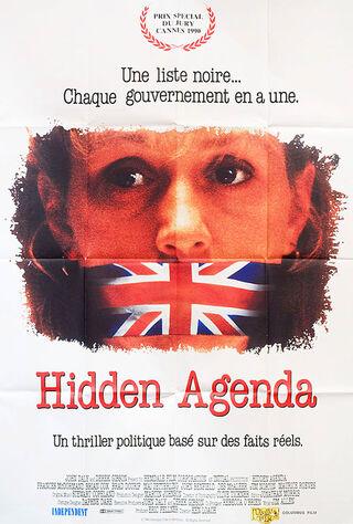 Hidden Agenda (1991) Main Poster