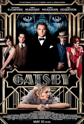 The Great Gatsby (2013) Main Poster