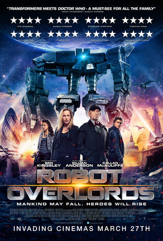 Robot Overlords (2015) Main Poster