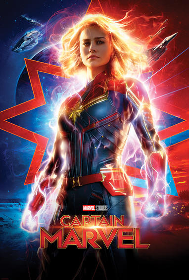 Captain Marvel (2019) Main Poster