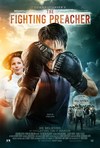 The Fighting Preacher (2019) Main Poster