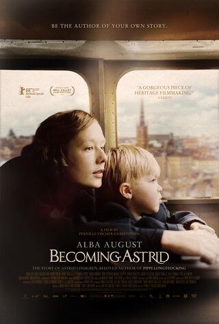 Becoming Astrid (2018) Main Poster