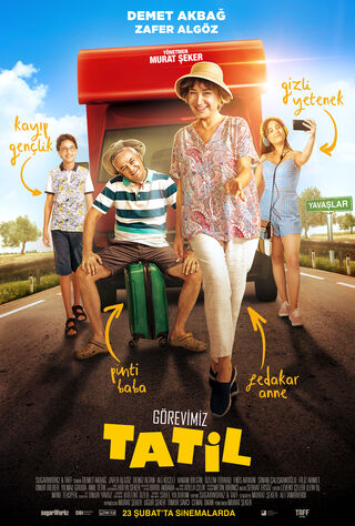 Görevimiz Tatil (2018) Main Poster