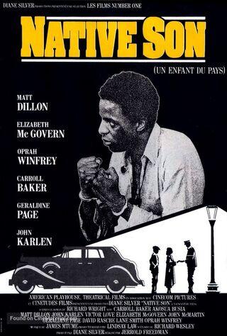Native Son (1986) Main Poster
