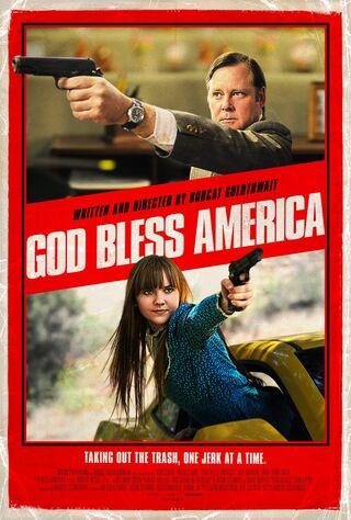 God Bless America (2012) Main Poster