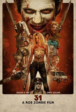 31 (2016) Main Poster