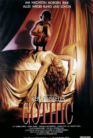 Gothic (1987) Main Poster