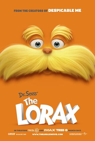 The Lorax (2012) Main Poster