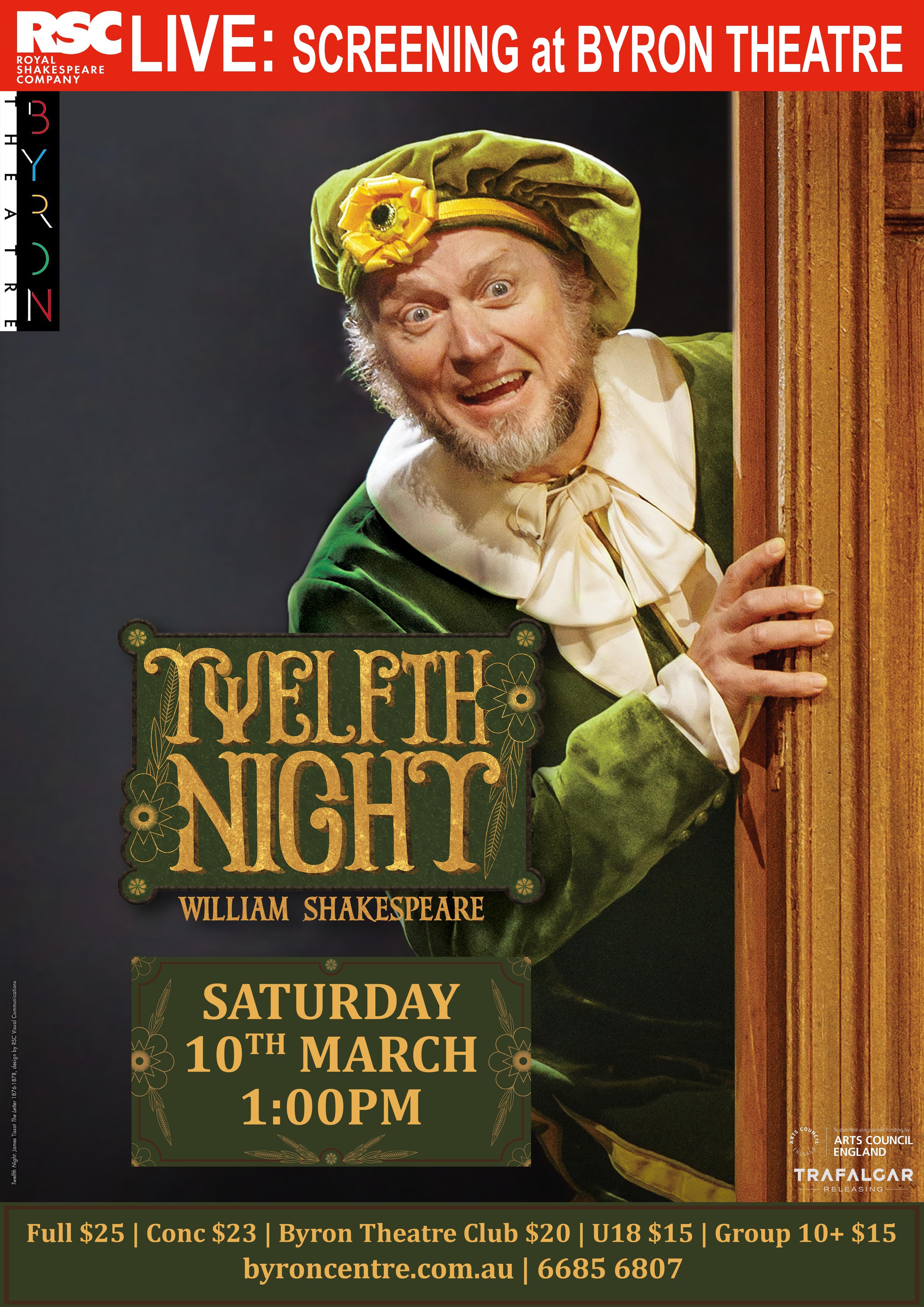 RSC Live: Twelfth Night (2018) Main Poster