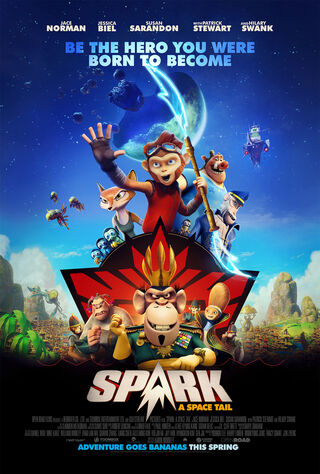Spark: A Space Tail (2017) Main Poster