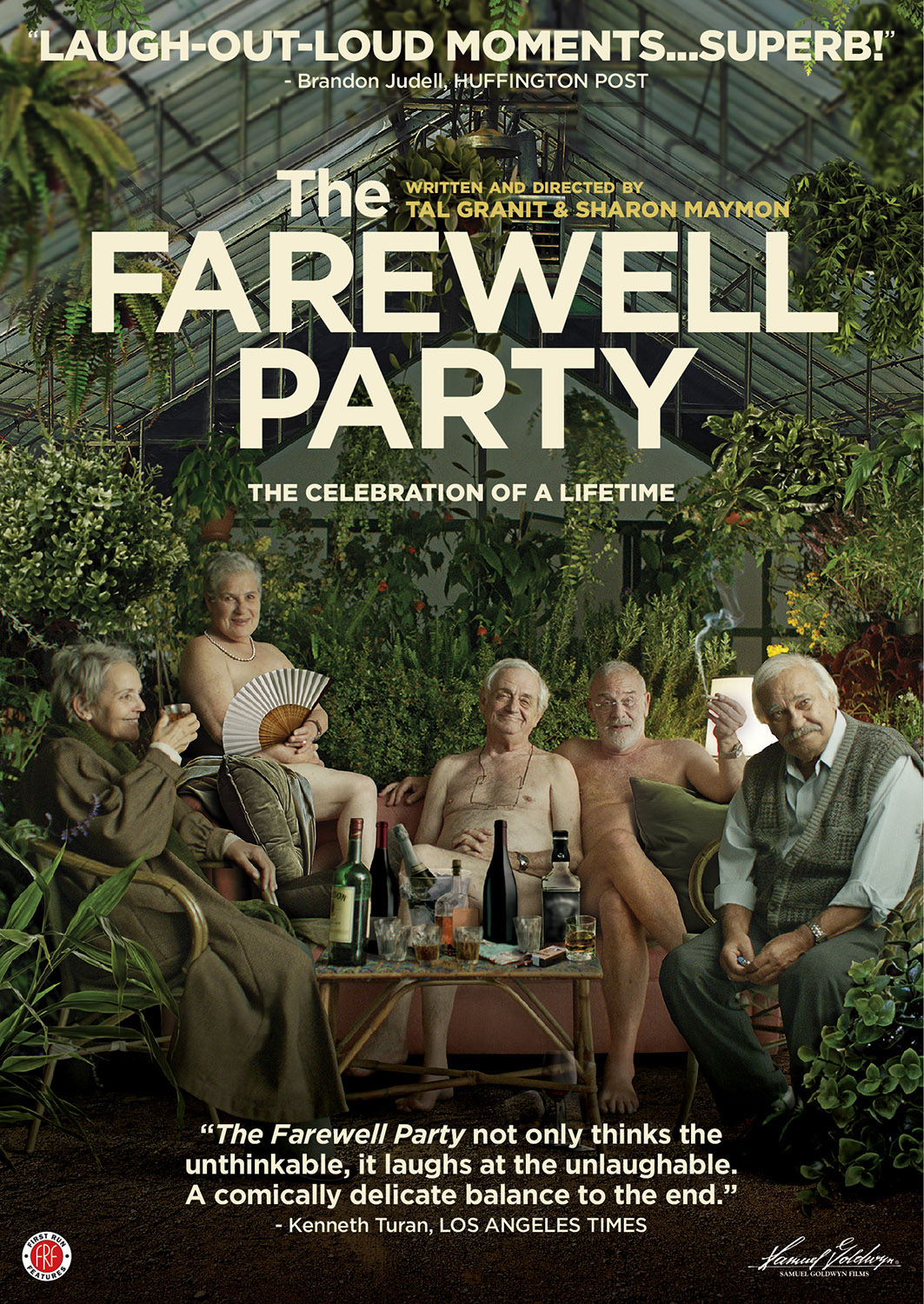 The Farewell Party (2015) Main Poster
