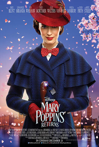 Mary Poppins Returns (2018) Main Poster