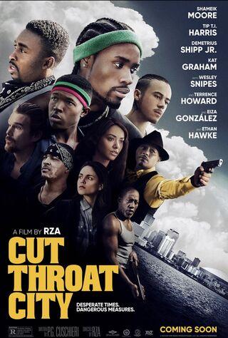 Cut Throat City (2020) Main Poster
