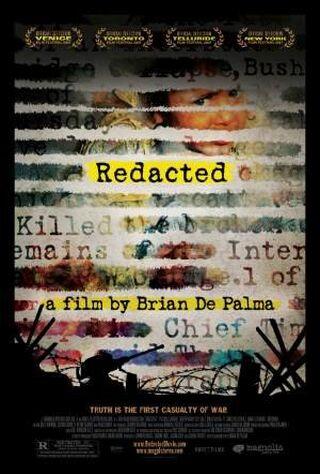 Redacted (2007) Main Poster