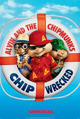 Alvin and the Chipmunks: Chipwrecked (2011) Main Poster