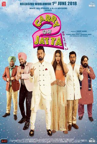 Carry On Jatta 2 (2018) Main Poster