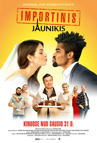 Importinis Jaunikis (2020) Main Poster