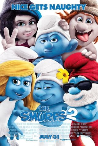 The Smurfs 2 (2013) Main Poster
