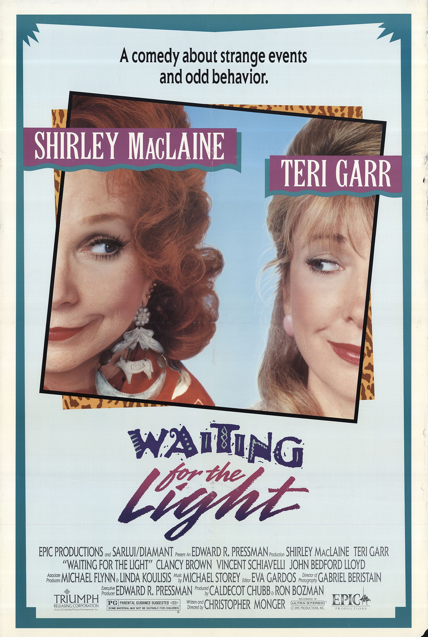 Waiting For The Light (1990) Main Poster
