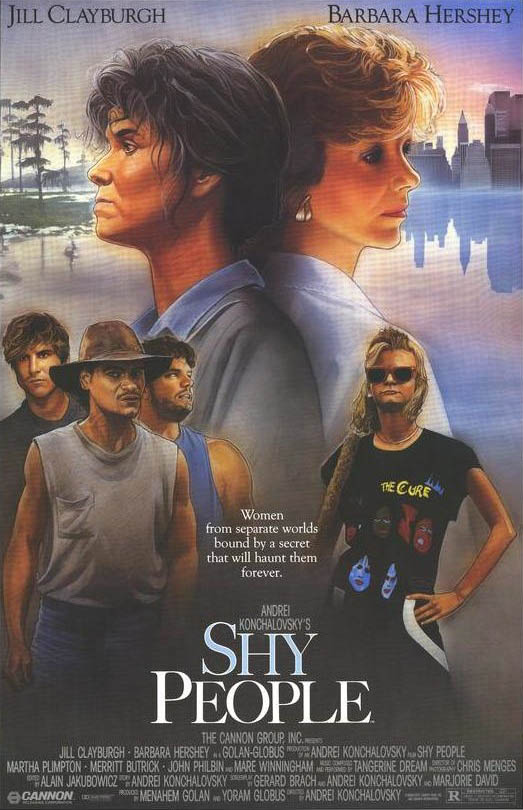 Shy People (1988) Poster #1