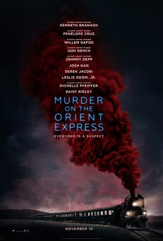 Murder on the Orient Express (2017) Main Poster