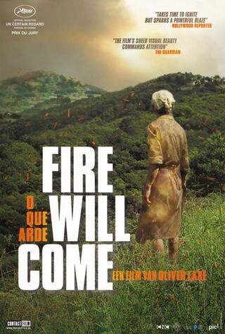 Fire Will Come (2020) Main Poster