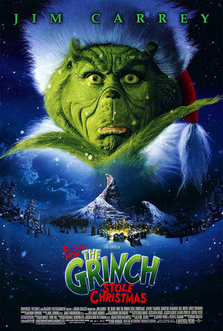 How the Grinch Stole Christmas (2000) Main Poster