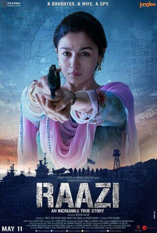Raazi (2018) Main Poster