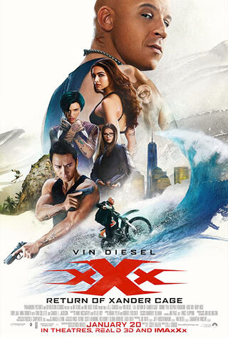 xXx: Return of Xander Cage (2017) Main Poster