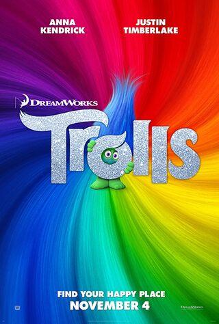 Trolls (2016) Main Poster