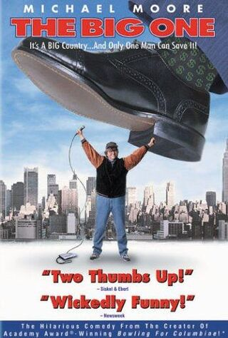 The Big One (1998) Main Poster