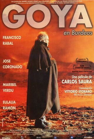 Goya In Bordeaux (1999) Main Poster
