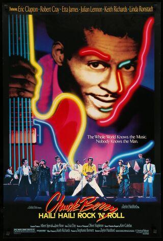 Chuck Berry: Hail! Hail! Rock 'n' Roll (1987) Main Poster