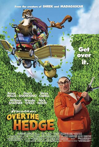 Over the Hedge (2006) Main Poster