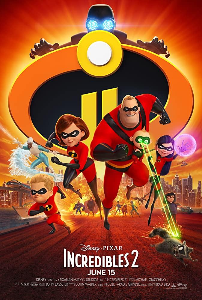 Incredibles 2 (2018) Main Poster