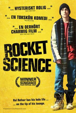 Rocket Science (2007) Main Poster