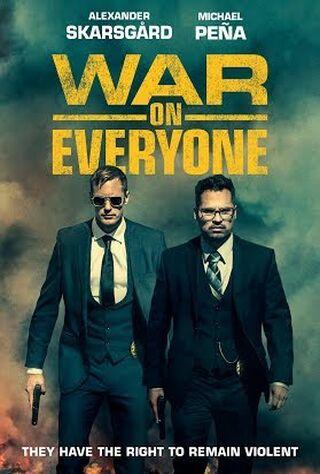 War On Everyone (2017) Main Poster