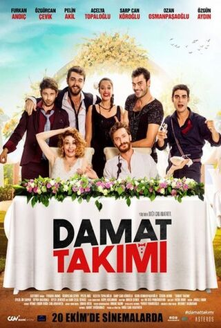Damat Takimi (2017) Main Poster