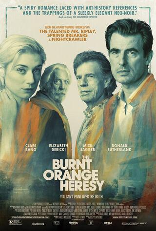 The Burnt Orange Heresy (2020) Main Poster