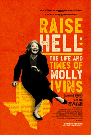 Raise Hell: The Life & Times Of Molly Ivins (2019) Main Poster