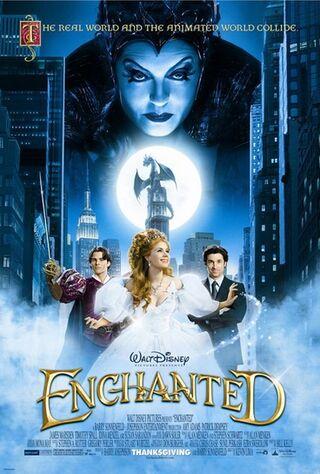 Enchanted (2007) Main Poster