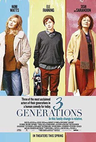 3 Generations (2016) Main Poster
